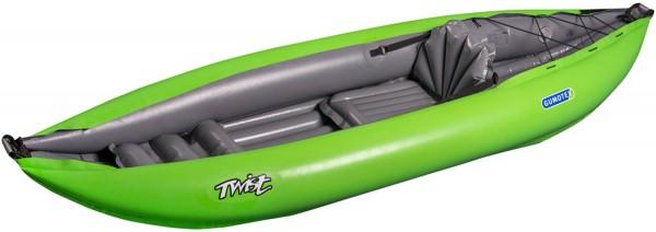 Gumotex TWIST I 1 Personen Schlauchkajak aufblasbar Schlauchboot ultraleicht
