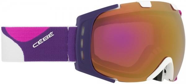Cébé Skibrille Damen Snowboardbrille für Brillenträger geeignet XXL Sichtfeld Origins M