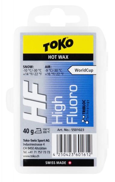Toko High Fluoro 40g Heißwax