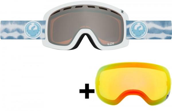 Dragon D1 Skibrille inkl. Wechselscheibe