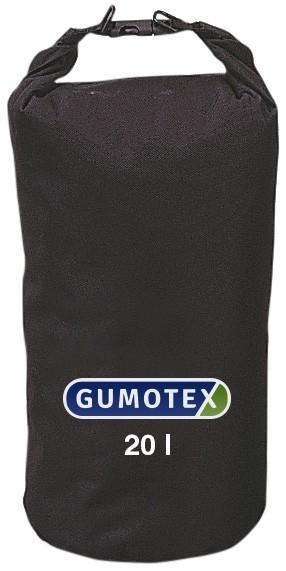 Gumotex wasserdichter Packsack schwarz 20-60 Liter