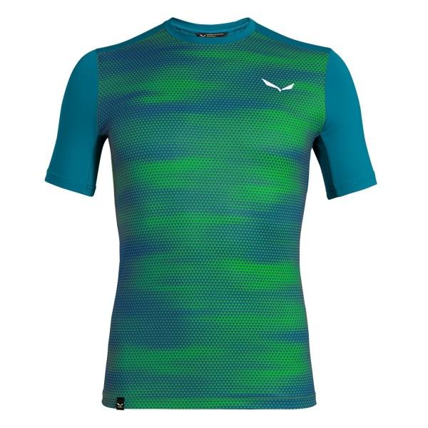 Salewa Pedroc Print Dry Short-Sleeve Tee T-Shirt Herren