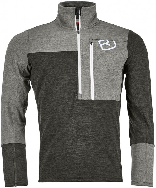 Ortovox Merino Fleece Light Zip Neck Men